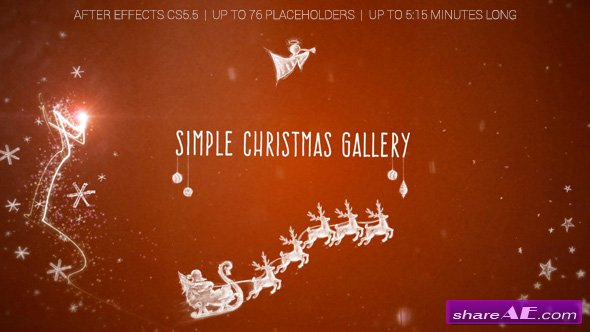 Videohive Simple Christmas Gallery