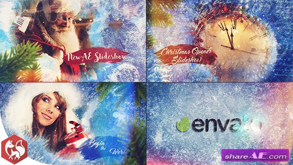Videohive Christmas Slideshow