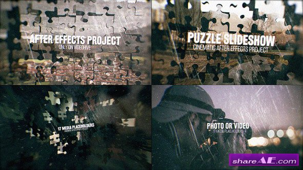Videohive Puzzle Slideshow