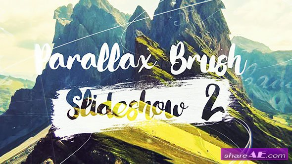 Videohive Parallax Brush 2