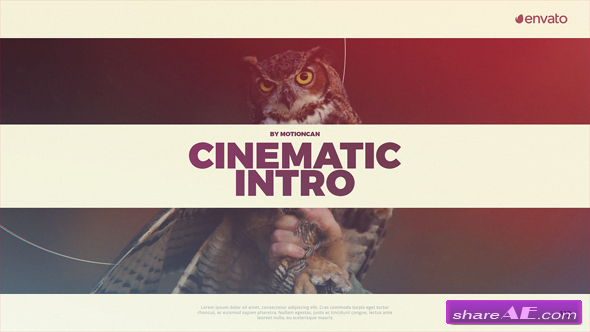 Videohive Cinematic Intro