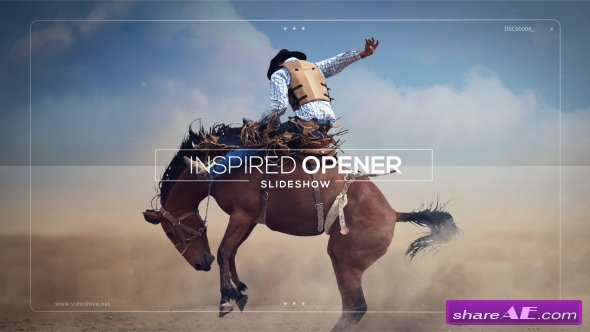 Videohive Inspired Opener - Slideshow