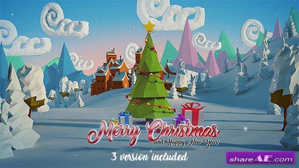 Videohive Christmas & New Year Logo 18833080