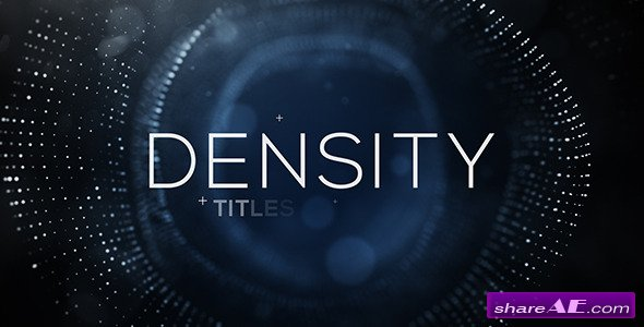 Videohive Density Titles
