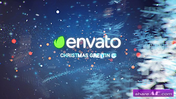 Videohive Christmas Wishes - Winter Opener