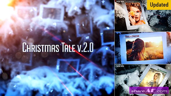 Videohive Christmas Tale