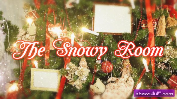Videohive The Snowy Room