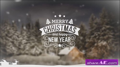 Christmas Slideshow - After Effects Template (Motion Array)