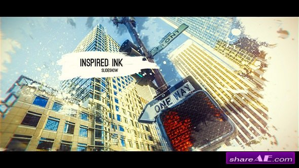 Videohive Inspired Ink Slideshow