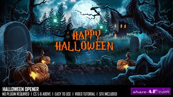 horror titles » free after effects templates | after effects