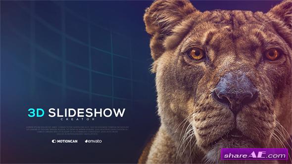 Videohive 3D Slideshow Creator