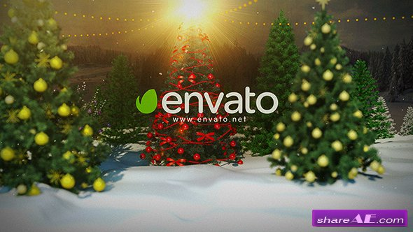 Videohive Christmas Logo