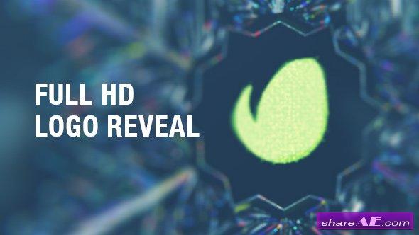 Videohive Snowflake Logo Reveal