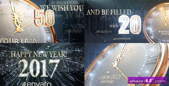 Videohive 2017 New Year Countdown