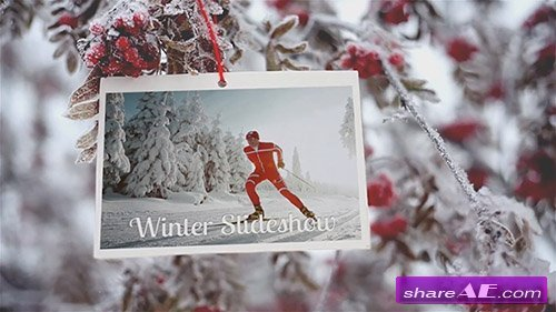 Winter Slideshow - After Effects Template (Motion Array)