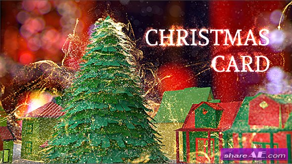 Videohive Christmas Card 18951314