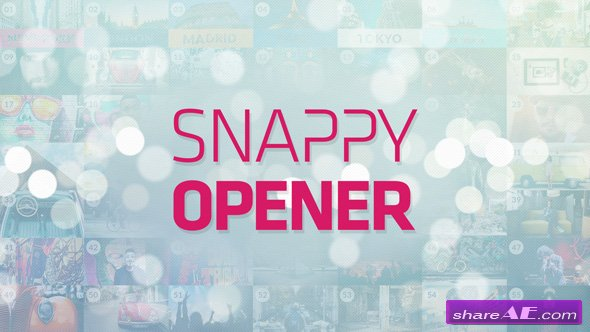 Videohive Snappy Opener