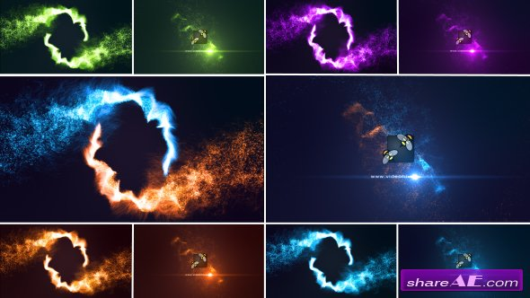 Videohive Magic Particles Logo Reveal 17130921
