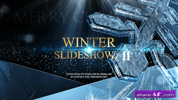 Videohive Winter Slideshow II
