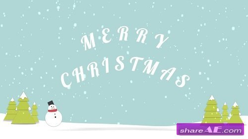 Christmas Logo and Opener - After Effects Template (Motion Array)