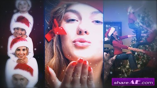 Dynamic Christmas Photography - After Effects Template (Motion Array)