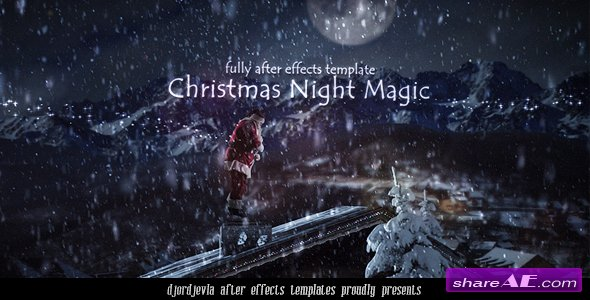 Videohive Santa Claus in the New Year's Eve