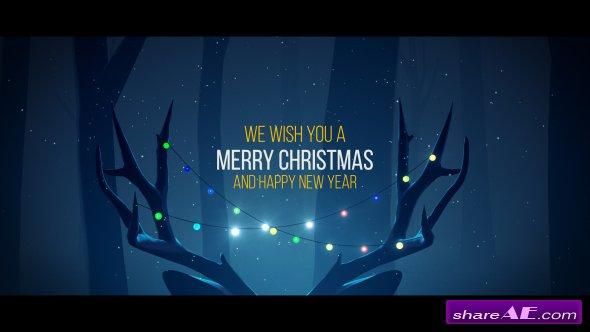 Videohive Christmas Deer