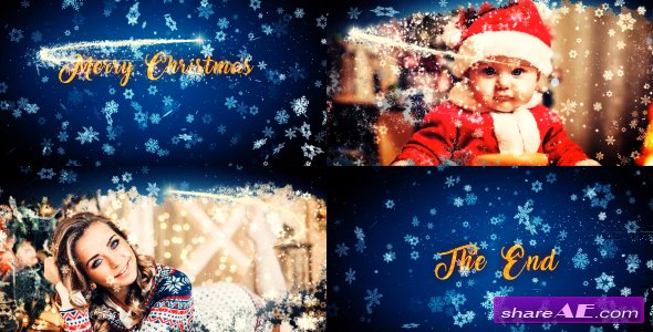 Videohive Merry Christmas Slideshow