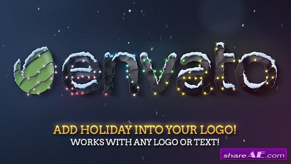 Videohive Christmas & New Year Lights