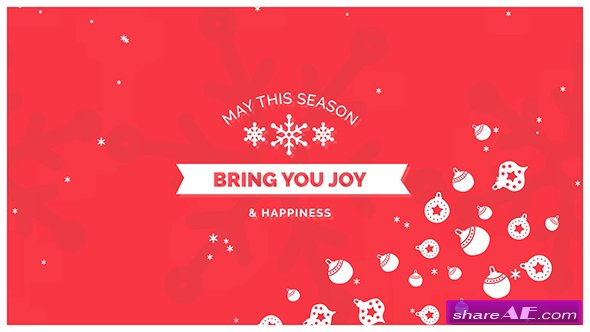 Videohive Christmas Card 18919667