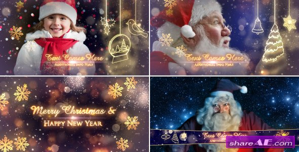 Videohive Christmas Promo Pack