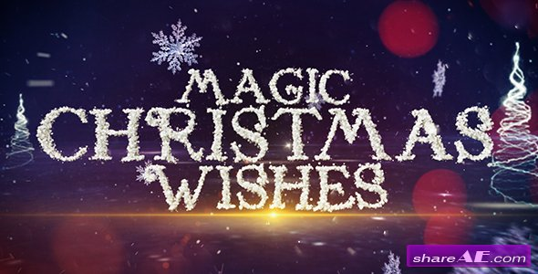 Videohive Magic Christmas Wishes
