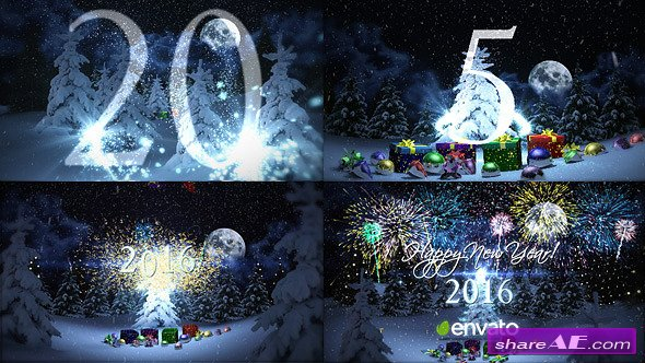 Videohive New Year Countdown