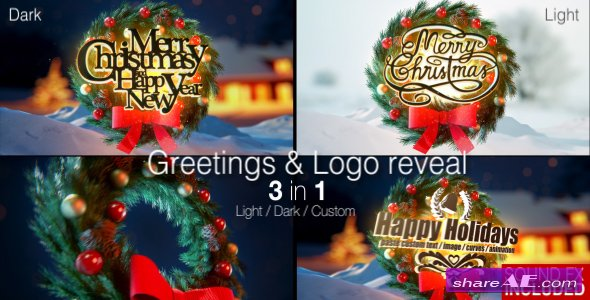 Videohive Christmas Magic Greetings