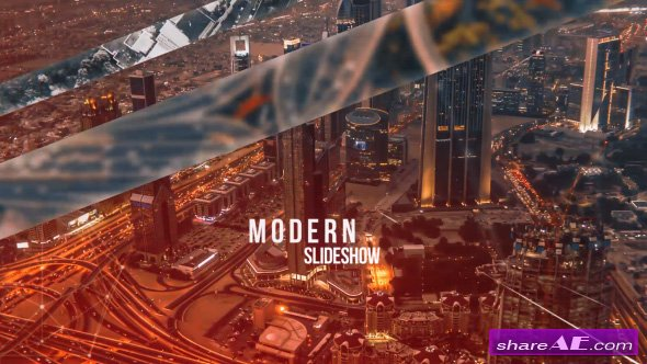 Videohive Modern Slideshow 19130210