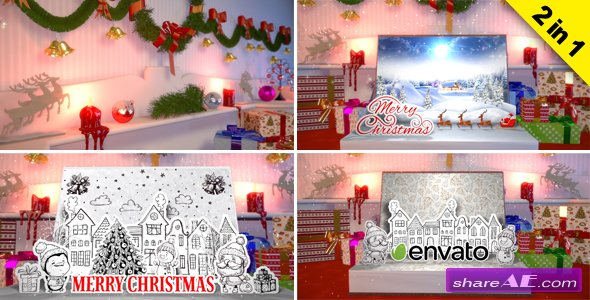 Videohive Christmas Book Creator