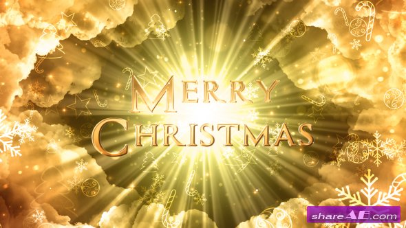 Videohive Heavenly Christmas Titles