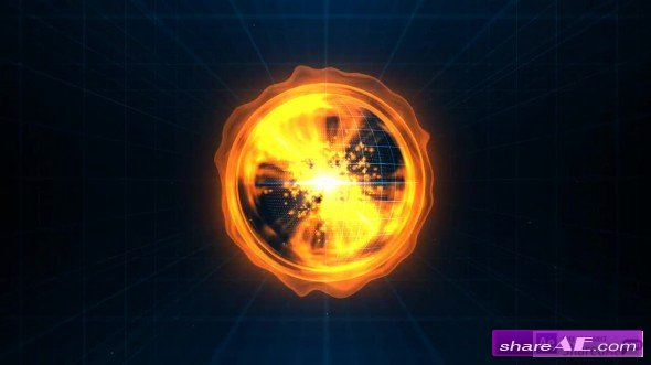 Tech Orb - After Effects Template (Motion Array)