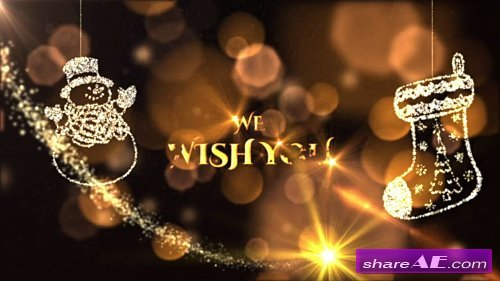 Christmas Wishes - After Effects Template (Motion Array)
