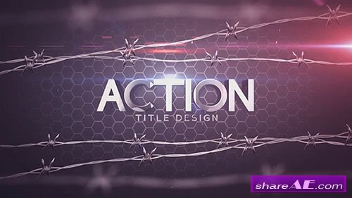 Action Title Design - After Effects Template (Motion Array)