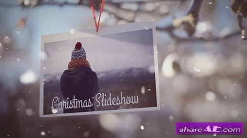 Christmas Slideshow 21813 - After Effects Template (Motion Array)