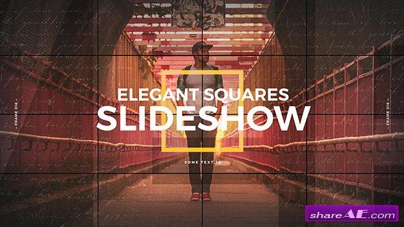 Videohive Elegant Squares Slideshow