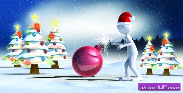 Videohive Christmas Love Bomb