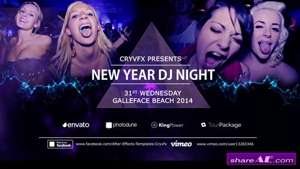 Videohive DJ Blockbuster Night