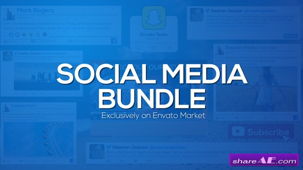 Videohive Social Media Bundle
