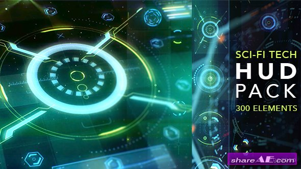 Videohive HUD Sci-Fi Infographic