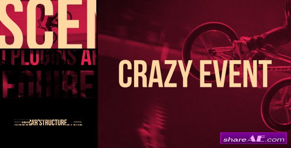 Videohive Crazy Event