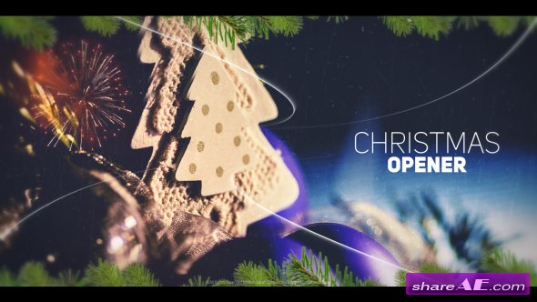Videohive Christmas Opener 19188544
