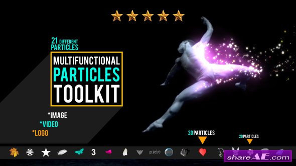 Videohive Multifunction Particles Toolkit