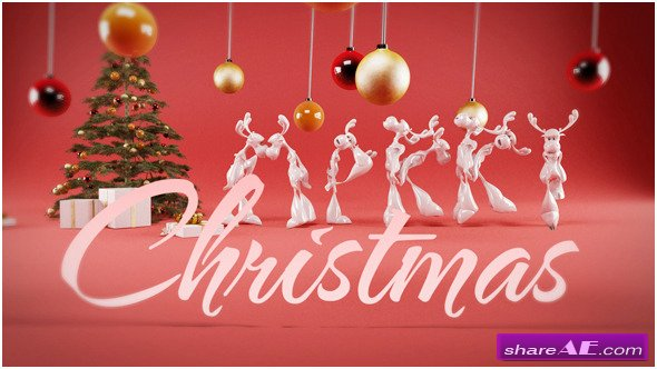 Videohive Rudolphs Christmas Greetings
